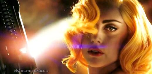 Lady Gaga a další hvězdné obsazení ve filmu Machete Kills (video)