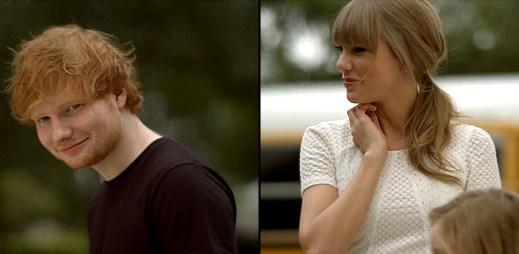 Přátelství na věky a roztomilý klip od Taylor Swift a Eda Sheerana