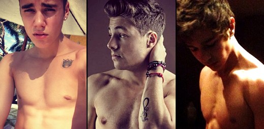 12 mladých zpěváků a jejich sexy těla na Instagramu. Kdo má nejlepší?