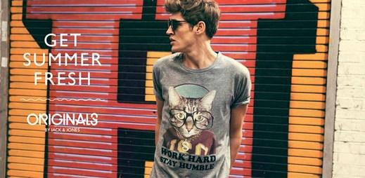 Jack & Jones: Zvířecí trička nové kolekce Fun Tee