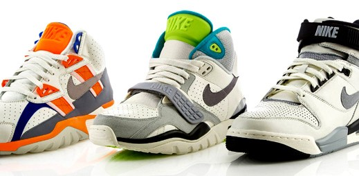 Tradiční old school design bot Nike Air Vintage Pack