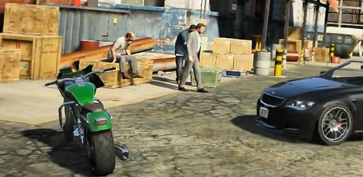 Grand Theft Auto V: Sledujte nadupané video přímo ze hry!