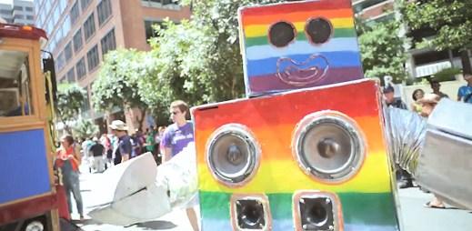 Zaměstnanci Facebooku si užívali Gay Pride v San Franciscu. Video!