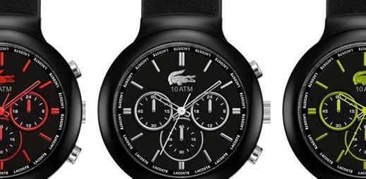 Sportovci zbystřete, přichází černé pánské hodinky Lacoste Borneo
