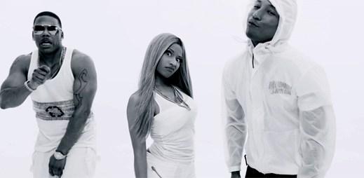 První spolupráce Nicki Minaj a Nelly přinesla hvězdnou sílu v klipu Get Like Me