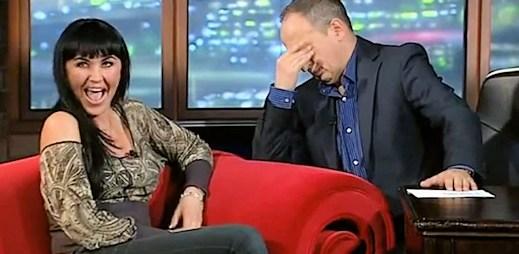 Nejlepší díl talk show: Paula Wild točila porno a prý se červená a stydí
