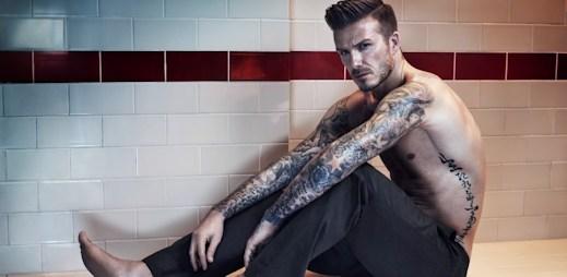 Podívejte se, jak David Beckham fotil spodní prádlo (video)