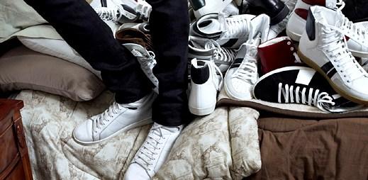 Saint Laurent: Kotníkové boty z elegantní kůže na podzim a zimu
