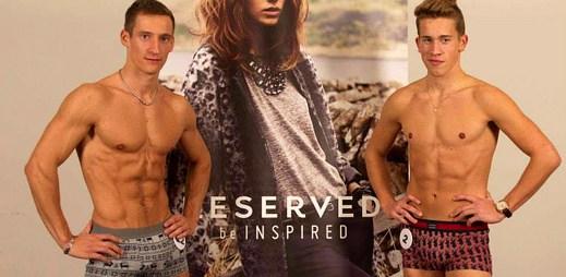 Už jste viděli novou kolekci spodního prádla Reserved? Na těch klucích je sexy!