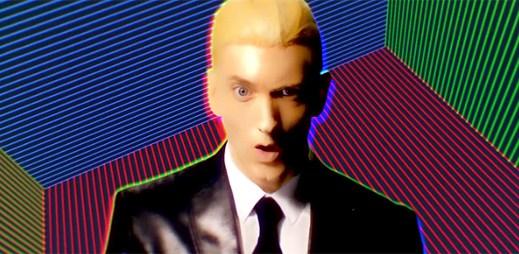 Eminem obhajuje nový klip Rap God, že slovo teplouš není nadávka