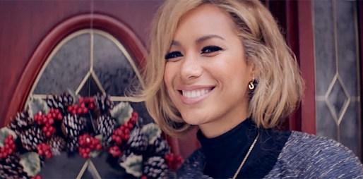 Leona Lewis se připravuje na Štědrý den v klipu One More Sleep