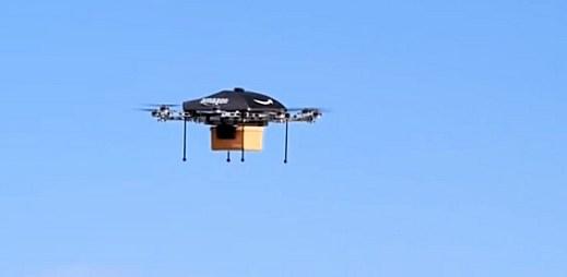 Toto není Sci-Fi! Amazon bude doručovat objednané zboží bezpilotním letounem (video)