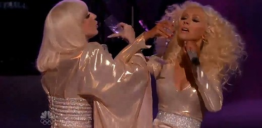 Lady Gaga a Christina Aguilera spolu zazpívaly na The Voice
