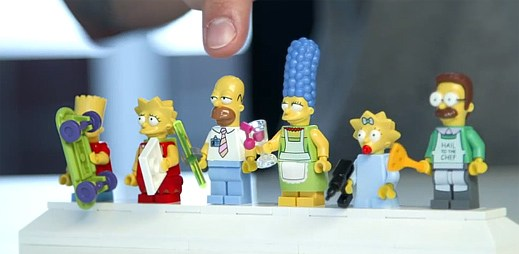 Máte rádi Simpsonovi? Tak toto nové LEGO musíte vidět!