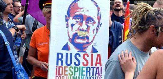 Ruský prezident Putin: Homosexuálové se Soči nemusí bát
