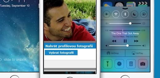Novinky na webu: Nahrávání fotek je rychlejší a funguje na iPadu, iPhonu a Androidech