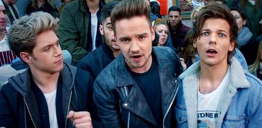 One Direction mění nudu v pořádnou zábavu v klipu Midnight Memories
