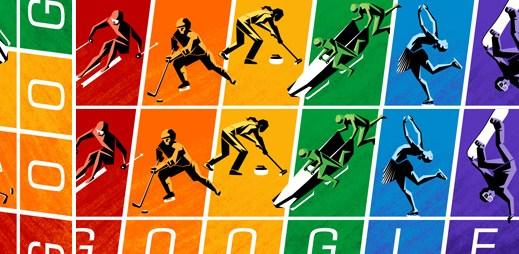 Google podpořil gaye v Soči: Provozování sportu je lidským právem!