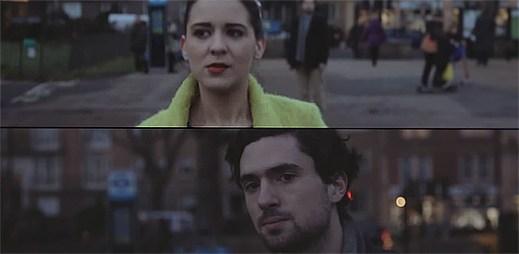 Raphaella v klipu Parallel Lines potkává muže, bojí se ho ale oslovit