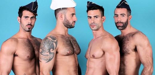 Sexy model Eliad Cohen láká na plavbu plnou gayů (video)
