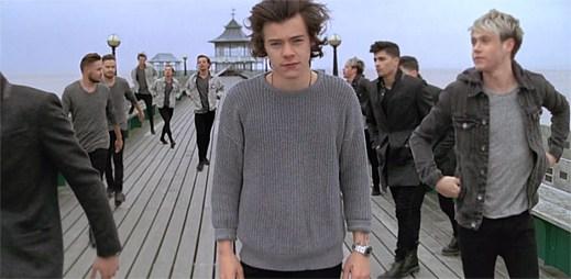 One Direction se pyšní klipem You and I. Prý je to nejlepší song na albu
