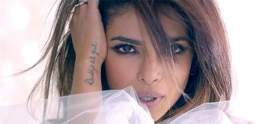 Priyanka Chopra natočila klip s rozchodem v přímém přenosu