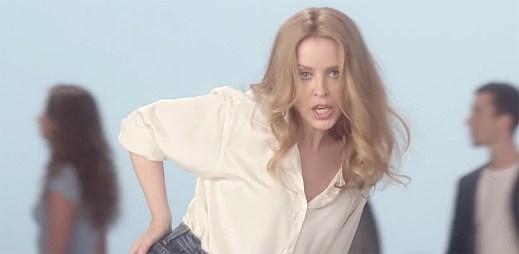 Kylie Minogue: Oblíbená zpěvačka mezi gay vydala klip I Was Gonna Cancel