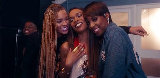 Hvězdná trojice Michelle Williams, Beyoncé a Kelly Rowland natočily společný klip Say Yes