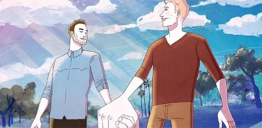 Homosexuální milostný příběh: Americká pojišťovna Allstate podpořila gaye