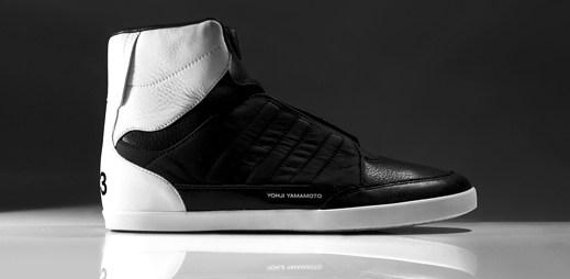 Luxusní boty Adidas Y-3: Kožená špička od návrháře Yohji Yamamoto