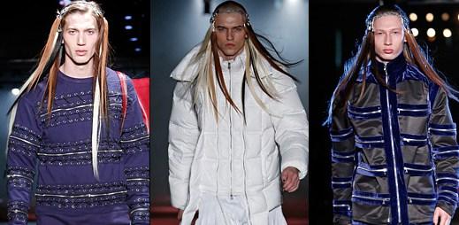 Extravagantní pánská módní kolekce Hood By Air