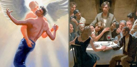 Kontroverzní kniha líčí na 24 malbách Ježíše jako mladého gaye