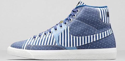 Námořnický styl zasáhl prémiové boty Nike
