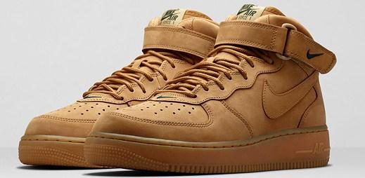 Nike Sportswear Flax: tři kultovní styly bot v pšeničné barvě