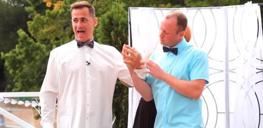 Gay svatba: Na vždy spolu až do smrti!