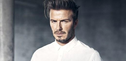 Sexy David Beckham se stal tváří jarní kolekce H&M