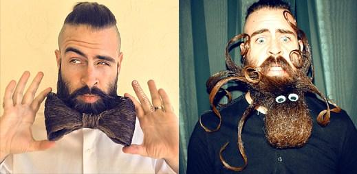 Instagram: Lumbersexuál Incredibeard povýšil své vousy na umění