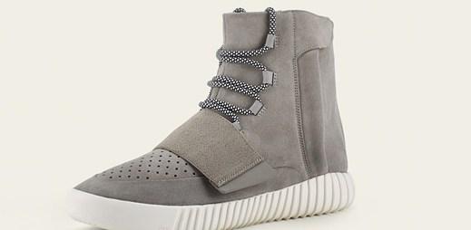 Adidas: limitovaná edice tenisek YEEZY BOOST navržena Kanye Westem