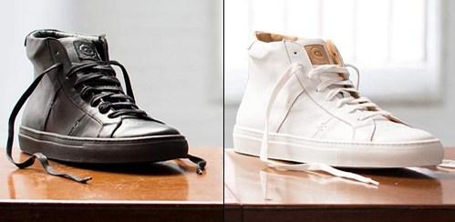 Stylová obuv Royale High značky Greats z hladké kůže