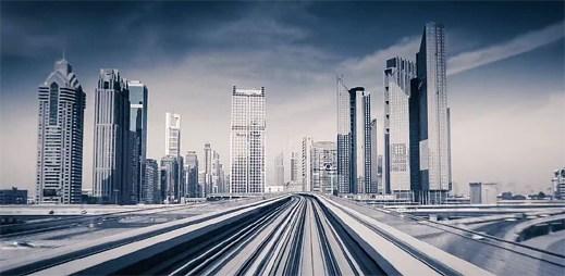 To nejlepší z futuristické Dubaje v časosběrném videu