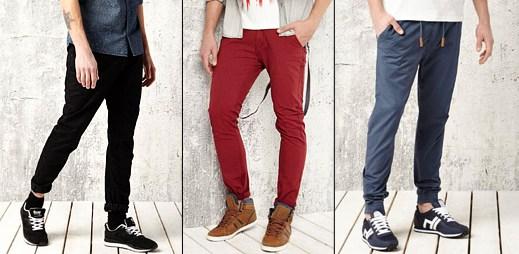 Vyberte si barevné kalhoty z kolekce značky House