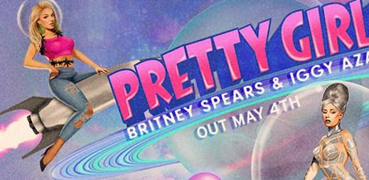 Poslechněte si nový singl Pretty Girls od Britney Spears a Iggy Azalea, který unikl dva dny před premiérou