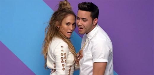 Prince Royce, Jennifer Lopez a Pitbull si užívají v letní hitovce Back It Up