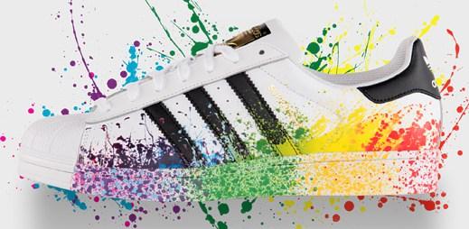 Adidas Originals představuje limitovanou edici bot oslavující Gay Pride