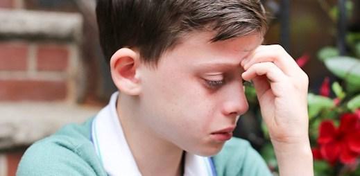 Malý chlapec: Jsem gay a bojím se, jaká bude moje budoucnost a že mě lidé nebudou mít rádi