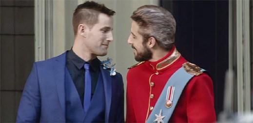 Britská televizní stanice předpovídá, že Anglii bude brzy vládnout homosexuální král