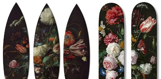 Boom-Art vytvořila skateboardy a surfboardy s originálním designem evropských malířů