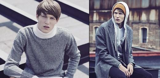 Bershka: Prodloužené svetry a pončo v městském stylu nové kolekce