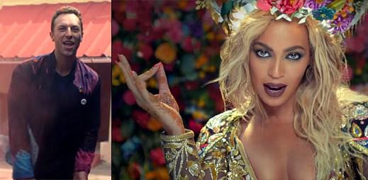 Coldplay míří do kina na indickou bohyni Beyoncé v klipu Hymn For The Weekend