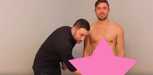 Sociální experiment: Heterosexuální muži se poprvé dotýkají penisu druhého muže